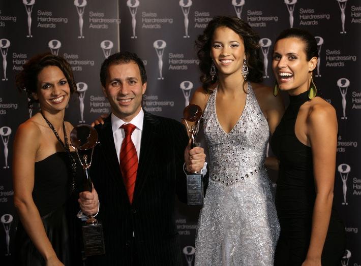 "Attribution des ""oscars de la coiffure"": Enzo Di Giorgio - Swiss Hairdresser of the Year 2008"