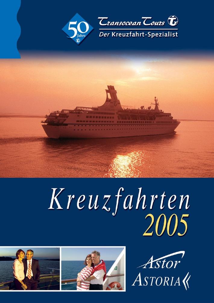 Transocean Tours: Grösster Kreuzfahrt-Katalog