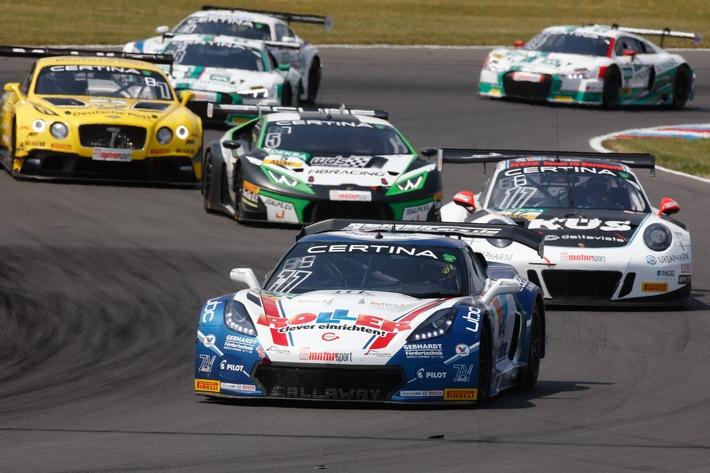 Bergfest im ADAC GT Masters: Supersportwagen starten auf dem Red Bull Ring