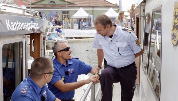"""""""Die Bodensee-Polizei"""": Vierteilige Doku ab 14.10., 21 Uhr im SWR Fernsehen / Koproduktion mit dem Schweizer Fernsehen SRF"""