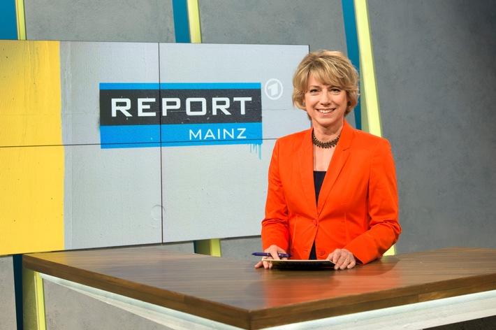 """Themen in """"Report Mainz"""" / Dienstag, 26. Juli 2016, 21.45 Uhr im Ersten / Moderation: Birgitta Weber"""