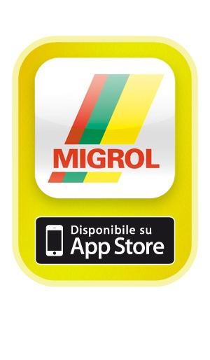 App per iPhone della Migrol per stazioni di servizio e olio combustibile