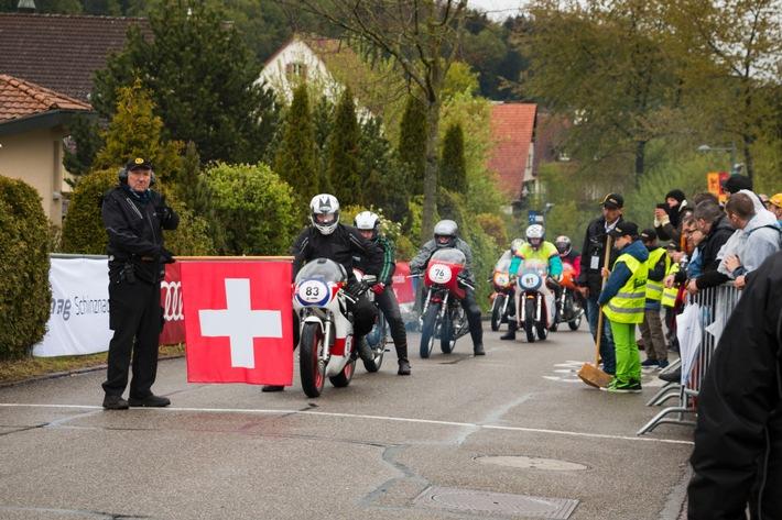 Motorgeschichte live erlebt: GP Mutschellen 1. Mai 2016