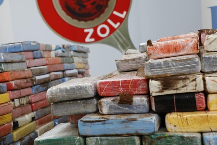 Zoll findet im Hamburger Hafen so viel Kokain wie noch nie