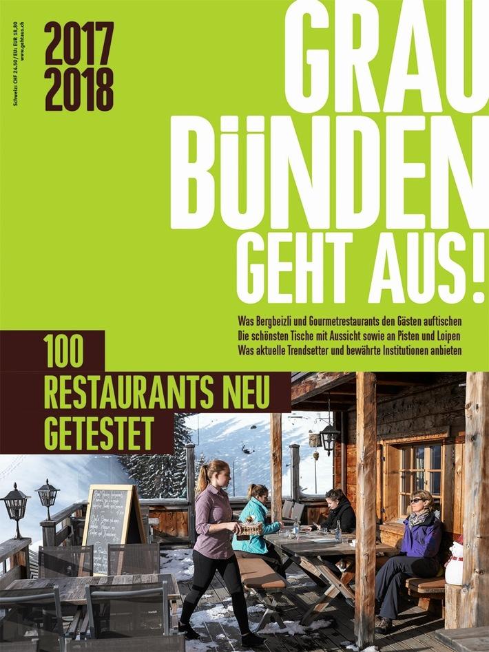 Die 100 besten Restaurants im Bündnerland