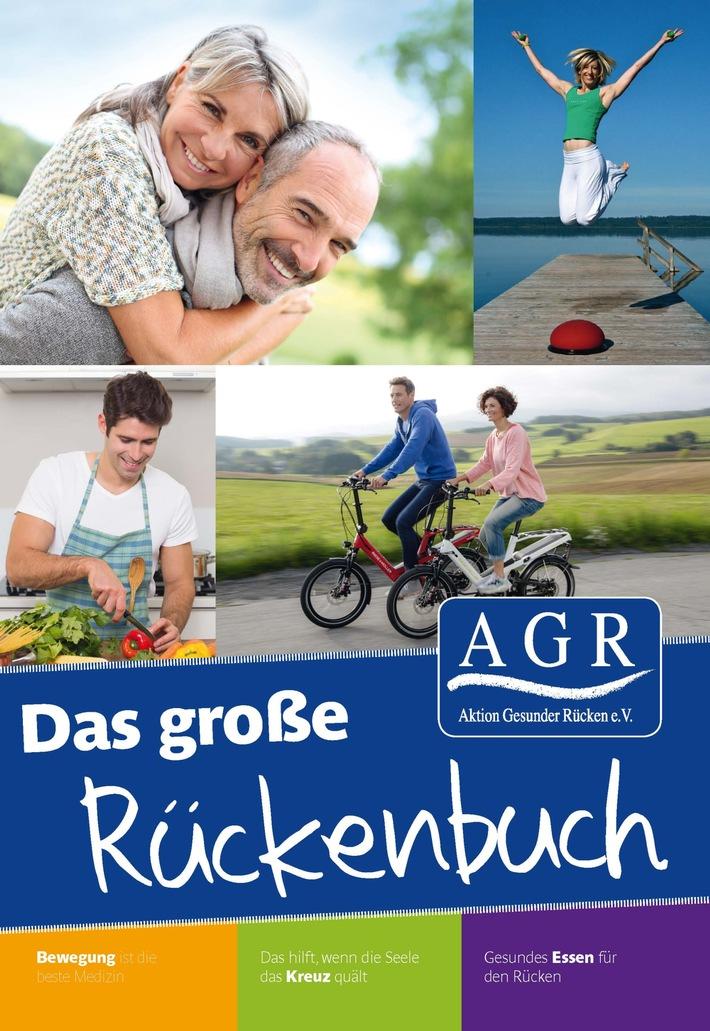 Was hilft gegen Rückenschmerzen? Das große AGR-Rückenbuch klärt auf