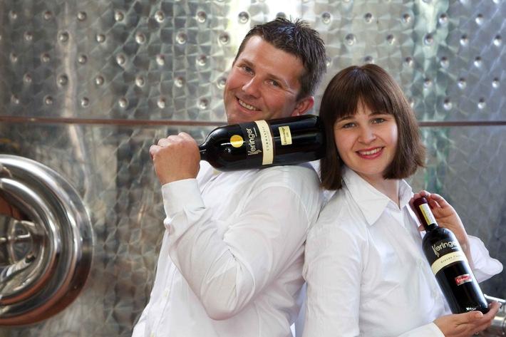 """Weingut Keringer - """"Gesamtsieger"""" der Austrian Wine Challenge 2013"""