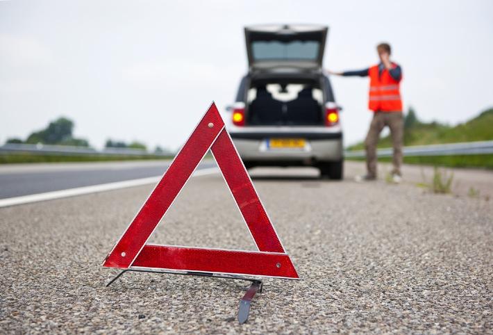 Was tun bei einer Panne auf der Autobahn?