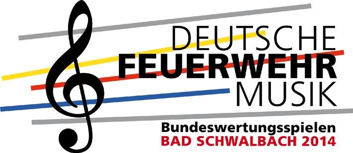 Bad Schwalbach: 630 Feuerwehrmusiker treten an / Spitzenniveau beim 11. Bundeswertungsspielen des DFV / 3. bis 5. Oktober