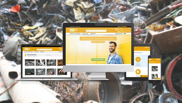Grazer Start-Up Schrott24 mischt Altmetallmarkt auf