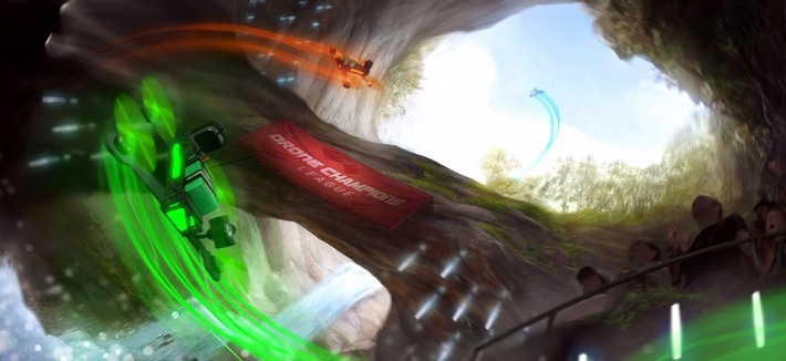 e-Sport der neuen Dimension / Drone Champions Game - Die Realität bekommt eine weitere Dimension