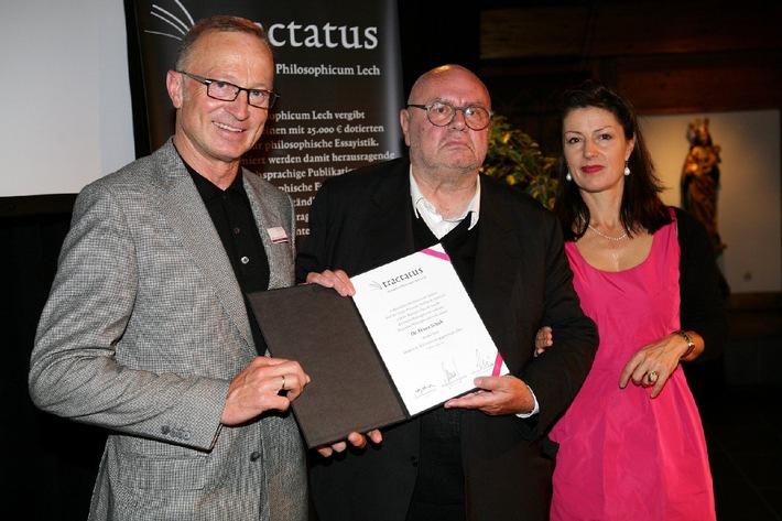 Bekanntgabe der Shortlist für den Tractatus - hochdotierter Essaypreis des Philosophicum Lech
