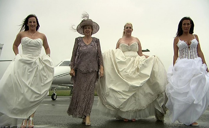 """Vier Hochzeiten, vier Bräute, ein Wettkampf: """"Die perfekte Hochzeit"""""""