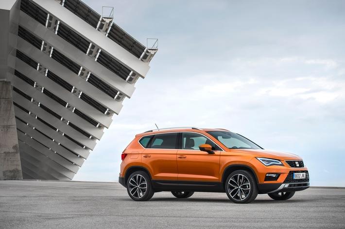 Spitzenergebnisse für den ersten SUV von SEAT / Euro NCAP: Fünf Sterne für den SEAT Ateca