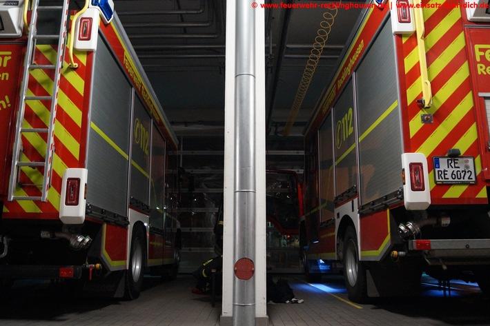 FW-RE: Dachstuhlbrand in voller Ausdehnung - keine Verletzten