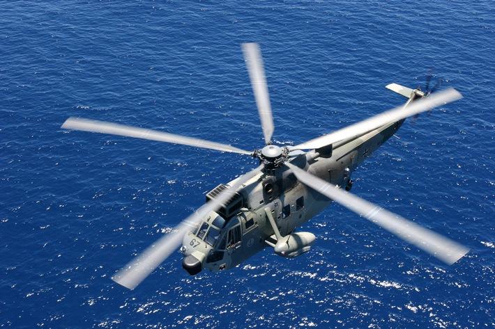 Deutsche Marine - Pressemeldung: Marineluftretter aus Kiel an einem Tag dreimal im Einsatz
