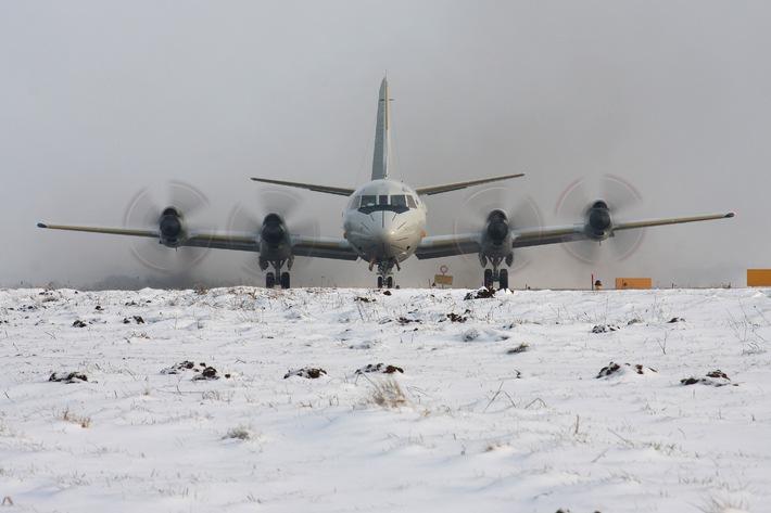 Marine - Bilder der Woche: Marineflieger im Wintereinsatz