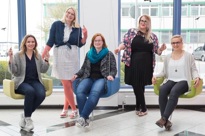 www.lipoedemmode.de zu Gast bei medi - Kompressionsstrumpf-Fertigung hält Mode-Bloggerinnen in Atem