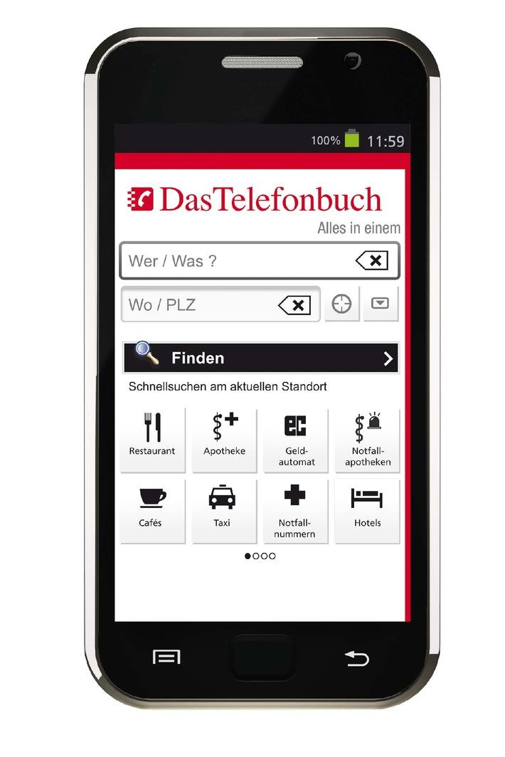 Gesund durch den Winter: Die mobilen Apps von Das Telefonbuch mit praktischer Notfallapotheken-Schnellsuche