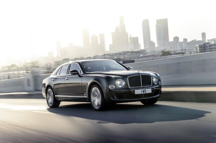 Bentley stellt den neuen Mulsanne Speed vor - Das schnellste Luxusautomobil der Welt