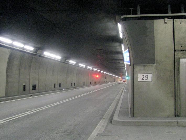 Test delle tunnel europei 2015: il San Gottardo fanalino di coda