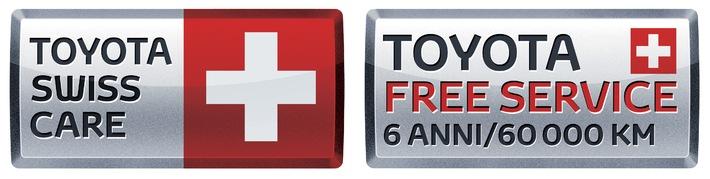 Toyota riduce i prezzi di listino in Svizzera e lancia il nuovo programma di servizi Toyota Swiss Care