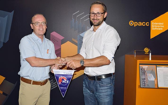 Opacc engagiert sich weiterhin im Schweizer Spitzenhandball (BILD)