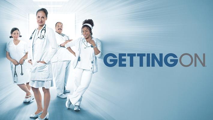 """Es geht noch einmal weiter: Die dritte und finale Staffel der HBO-Comedyserie """"Getting On - Fiese alte Knochen"""" exklusiv auf Sky"""