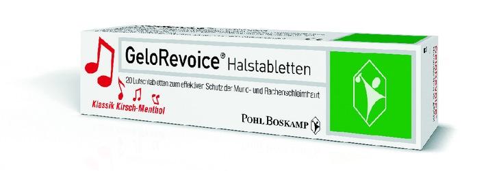 Halstabletten mit Hyaluronsäure helfen bei heuschnupfenbedingten Halsbeschwerden