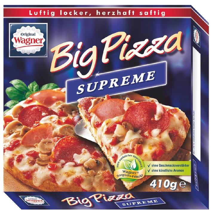 """Wagner Tiefkühlprodukte ruft vorsorglich """"Die Backfrische"""" und """"Big Pizza"""" zurück"""