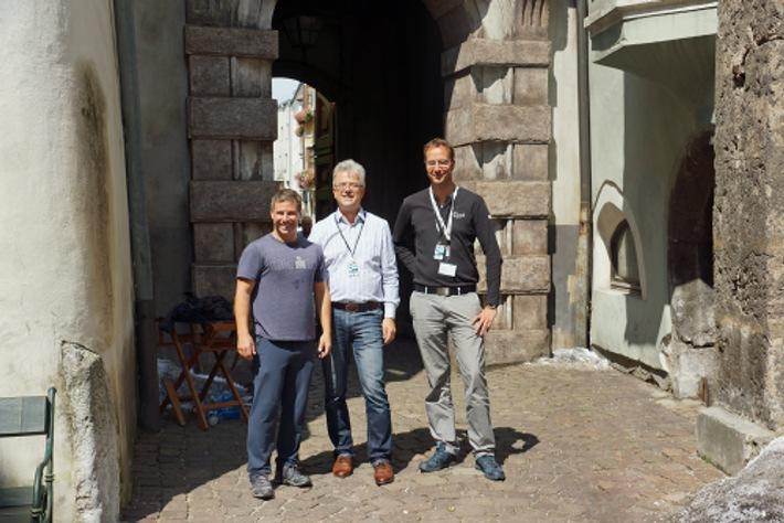 """Filmdreh """"Point Break"""": Hall in Tirol wird zum Schauplatz eines spektakulären Banküberfalls"""