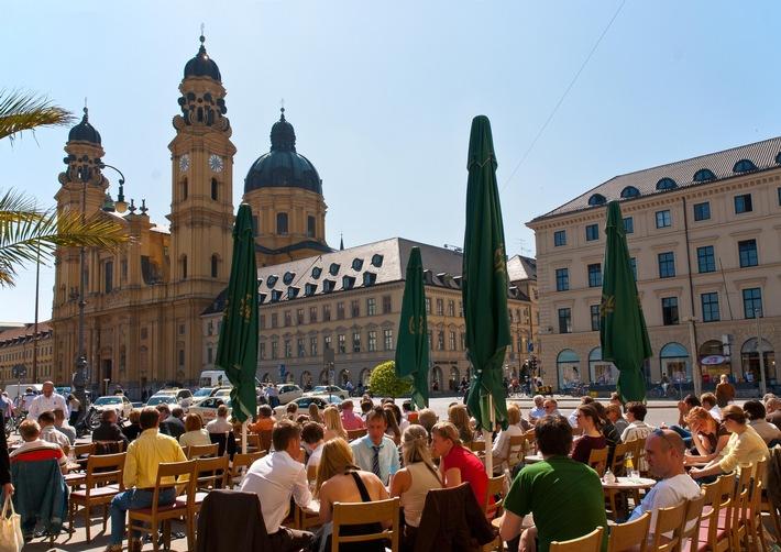 Rekord: Tourismus in München - Positive Jahresbilanz 2015 und frischer Start in den Münchner Frühling