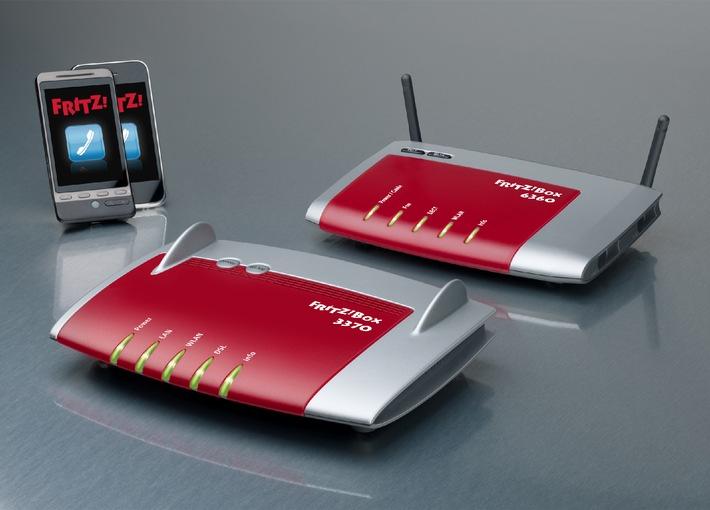 AVM mit Cebit-Premiere für zwei neue FRITZ!Box-Modelle (mit Bild)