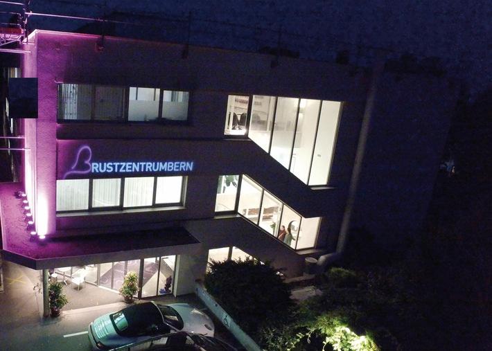 Das Brustzentrum Bern der Lindenhofgruppe setzt sichtbare Zeichen