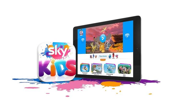Neue Sky Kids App - Die ganze Welt der Unterhaltung nur für Kinder