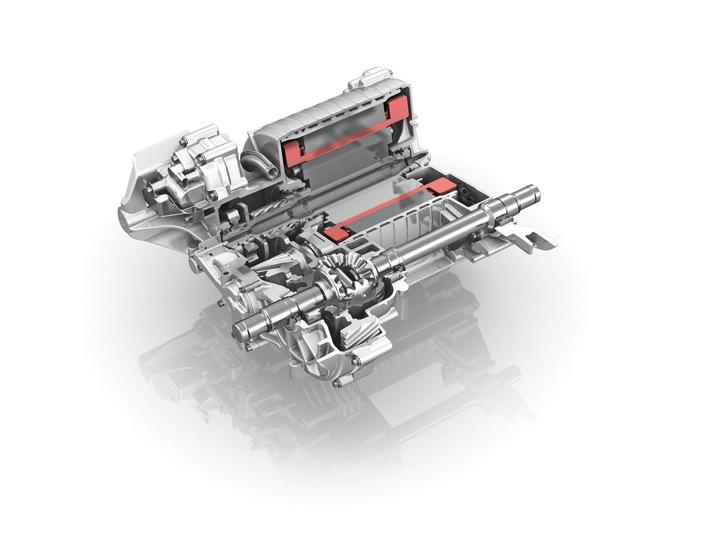 Kompakt, leicht, leistungsstark: Elektrischer Achsantrieb von ZF geht 2018 in Serie