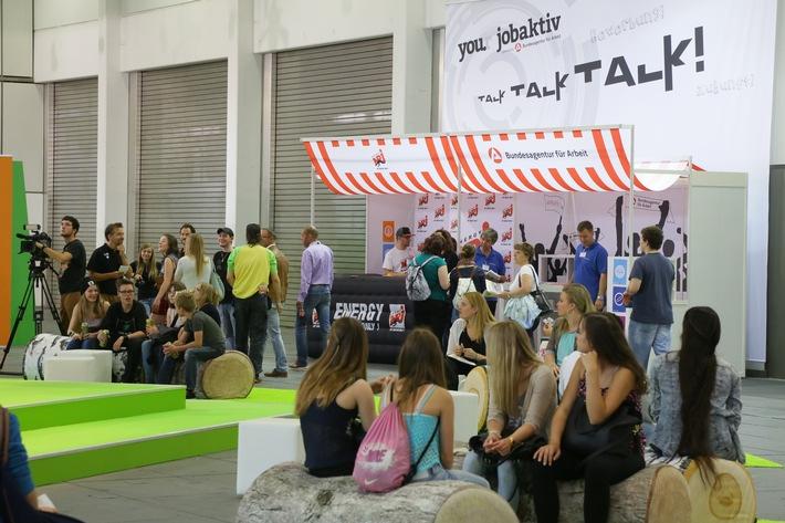 YOU Berlin 2015 - Arbeitsagentur wieder mit eigener Halle