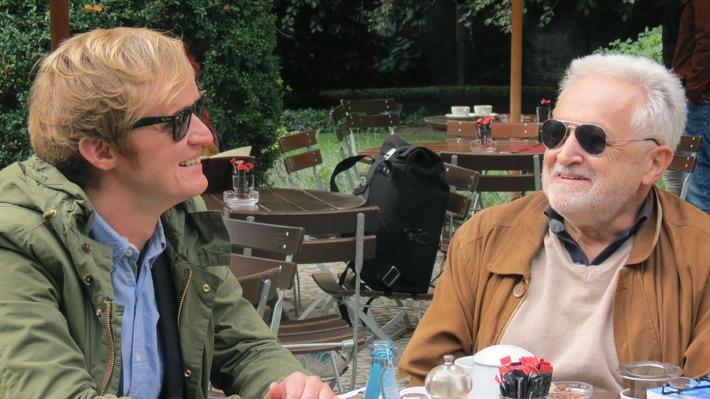 """""""Krause kommt!"""" zu Henryk M. Broder nach Berlin"""