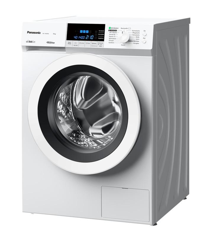 Panasonic auf der IFA 2016: Neue AutoCare Waschmaschinen sparen Geld und Zeit