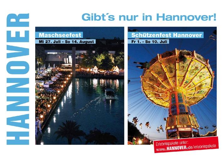 Gibt´s nur in Hannover! / Die Hannover Marketing und Tourismus GmbH wirbt mit einer großen Tourismus-Kampagne in Norddeutschland und Nordrhein-Westfalen für das Reise- und Ausflugsziel Hannover (mit Bild)