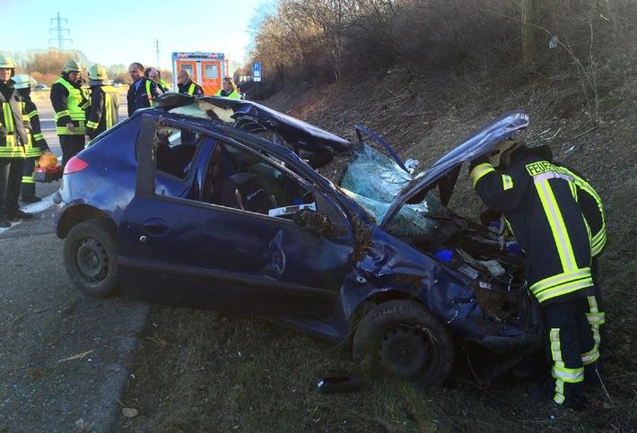 FW-HAAN: Zwei Unfälle mit Verletzten