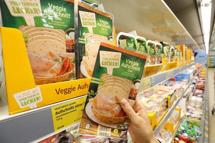 Nicht nur zum Weltvegetariertag - fleischloser Genuss bei ALDI SÜD