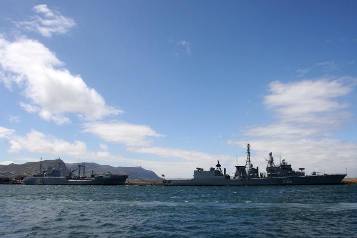 """Marine - Pressemitteilung: Manöver """"Good Hope"""" startet vor Südafrika"""