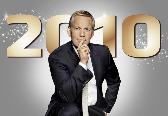 "Kerner ist der Erste! ""2010 - Der große Jahresrückblick"" am Donnerstag, 2. Dezember 2010, 20.50 Uhr (mit Bild)"