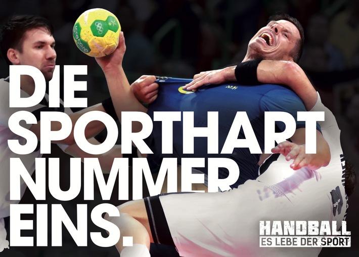 """""""HANDBALL - ES LEBE DER SPORT"""": Mitmach-Kampagne des deutschen Handballs macht sich stark für authentischen und ehrlichen Sport"""