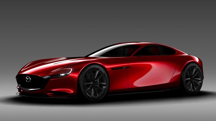 Mazda präsentiert Sportwagen-Konzept RX-Vision mit Kreiskolbenmotor auf der Tokyo Motor Show