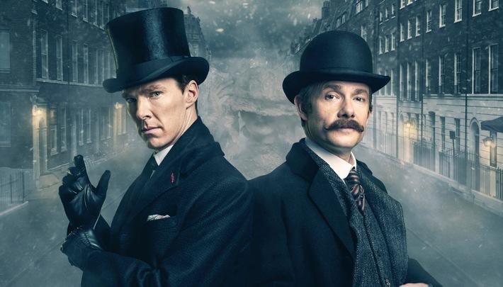 """Das Erste / """"Sherlock - Die Braut des Grauens"""" mit Benedict Cumberbatch und Martin Freeman am Ostermontag, 28. März 2016, um 21:45 Uhr im Ersten"""