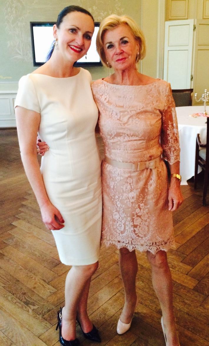 Ladies Lunch zugunsten schlaganfallbetroffener Kinder / Hochkarätiger Charity-Event mit Top-Unternehmerinnen