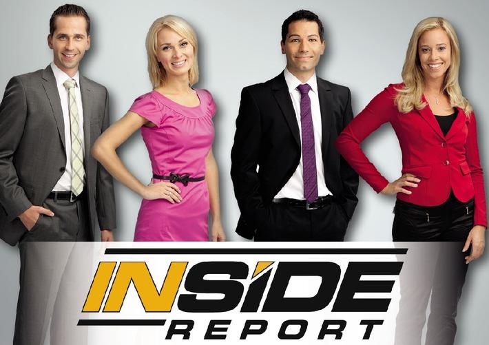 Mehr Hintergründe, mehr Analysen, mehr Meinung: INSIDE REPORT ab 3. Dezember auf Sky Sport News HD / Die Top-Themen des Tages von Montag bis Freitag täglich um 19.00 Uhr
