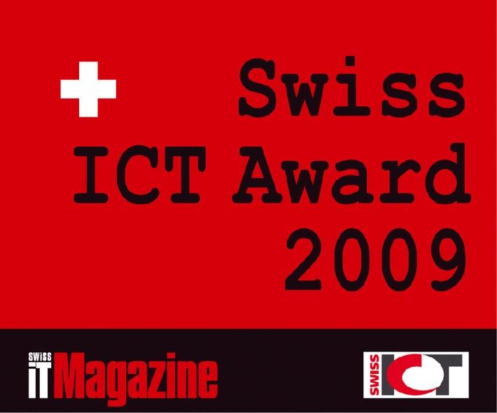 Ausschreibung für den «Swiss ICT Award 2009» ist lanciert